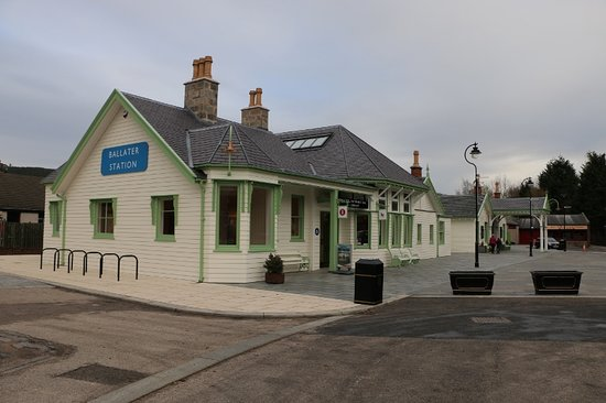 Full-Day Highland Mystery Tour from Aberdeen: Old Royal Station now café / Restaurant and information centre