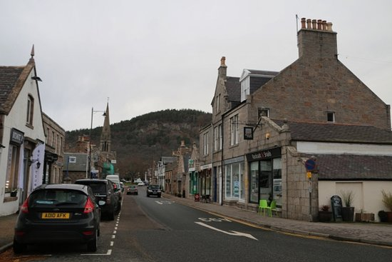 Full-Day Highland Mystery Tour from Aberdeen: Street in Ballater