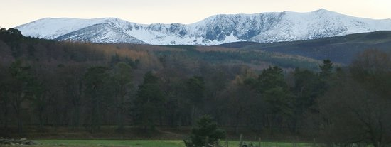 Full-Day Highland Mystery Tour from Aberdeen: Snow in the hills