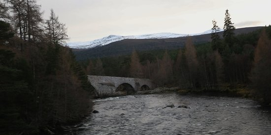 Full-Day Highland Mystery Tour from Aberdeen: Bridge where Prince Charles and Diana had photo taken many years ago .