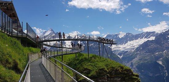 Grindelwald, Switzerland: Storslagen utsikt