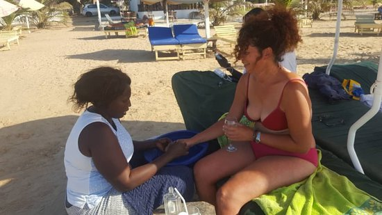 Milli's Tour Guide And Taxi Service In Gambia: Manicure :-)