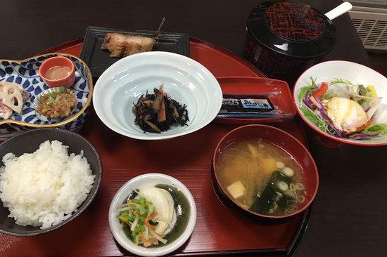 Ryokan Shimizuya: 朝食