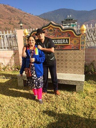Бутан: at Hotel kubera