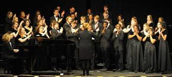 Senatobia, MS: The Northwest Ensemble Choir at a recent event.