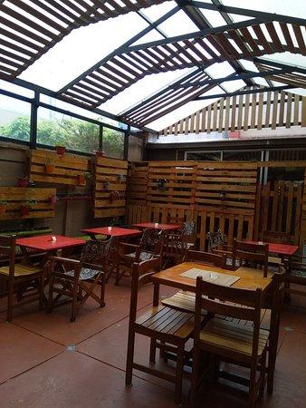 Nuestro patio interior. Our inner patio