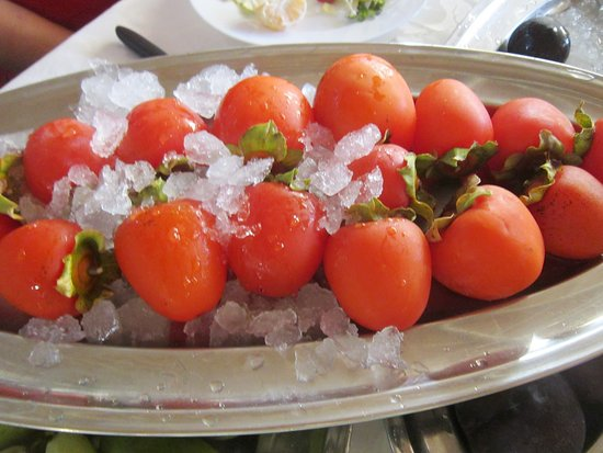 Maamelteine, Líbano: Очень вкусная сладкая хурма