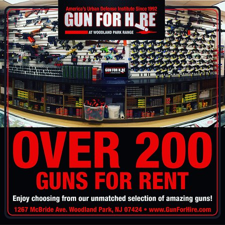 Over 200 Guns to rent!