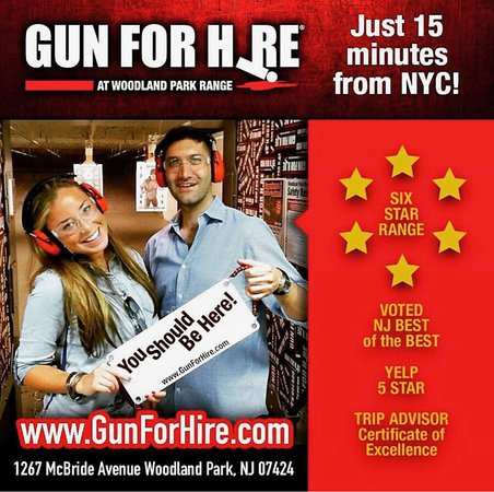 Couples date night at Gun For Hire!