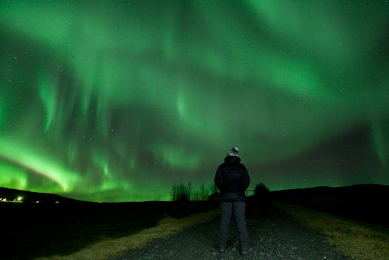 Golden Circle Afternoon and Northern Lights Tour from Reykjavik: Northern lights - Dec 2, 2018, kp 5-6