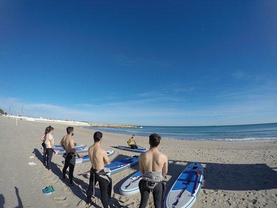 El Perello, Spain: Clases de paddle surf