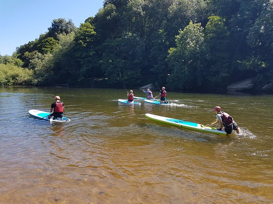 Stand-Up Paddleboard Session at Symonds Yat West.