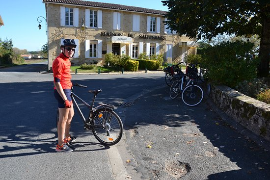 Bordeaux Region 8-Day Cruise with Biking Tours & Wine Tastings: Sauternes with Dorian our  Tour leader