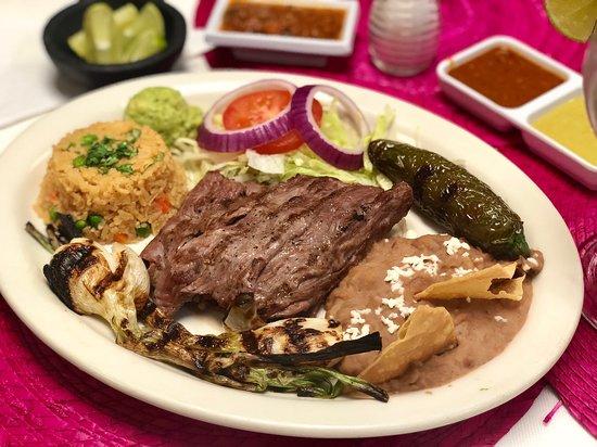 Hacienda San Miguel Mexican Restaurant and Bar: Beef Arrachera