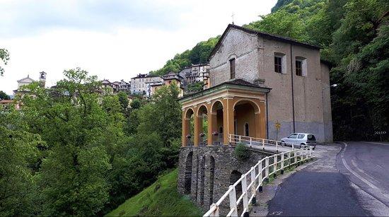 Curiglia con Monteviasco, Italië: Santuario del Tronchedi