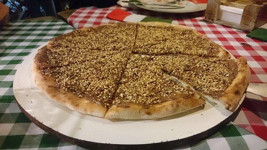 Mamma Mia Restaurante E Pizzeria: Pizza doce