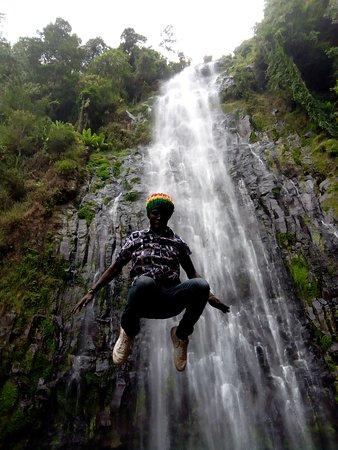 Kili Taxi Services: Materuni Waterfall. Kili taxi driver