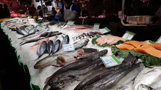 보케리아 시장 사진