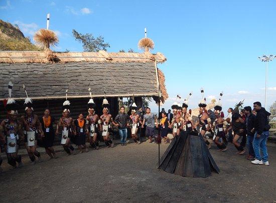 Tribal dance during Hornbill festival