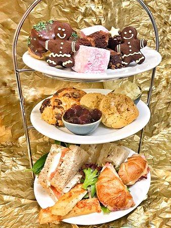 Chocaccino Chocolate Cafe and Shop: Afternoon Tea - Christmas 2018