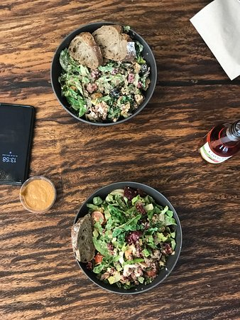 lunch date at GREENKARMA