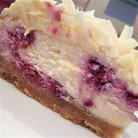 Chocaccino Chocolate Cafe and Shop: White Chocolate & Raspberry Cheesecake