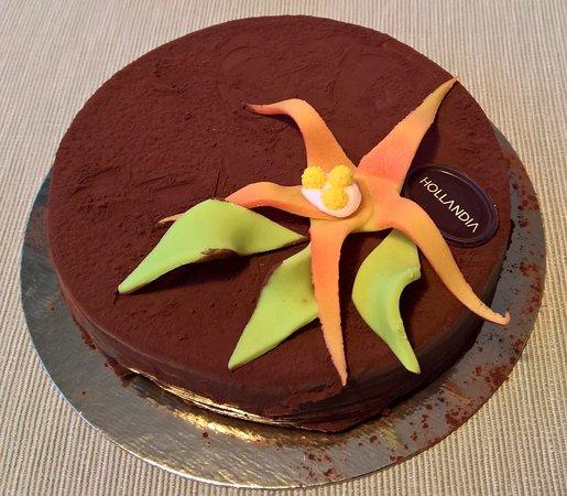 Hollandia: fransk chokladtårta