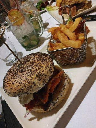Le zèbre: Veggie burger