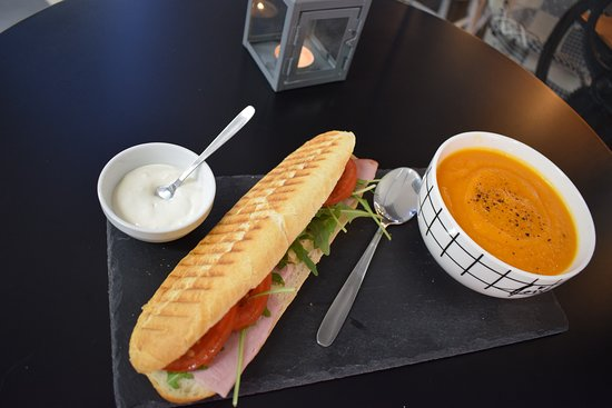 Kawiarnia Baby z magla: Panini with soup perfect for your lunch! Panini + zupa krem, idealne na Twój lunch!
