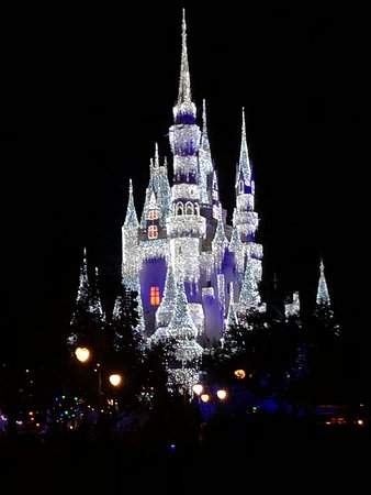 Mickey's Very Merry Christmas Party - beautiful Castle!