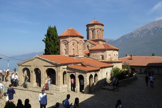 The church inside the monastery