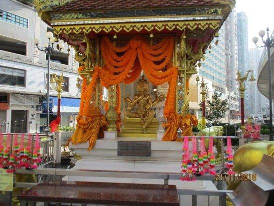 Four Faced Buddha Statue