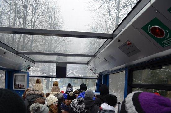 Kolej Linowo Terenowa PKL Gubalowka: in the cable car