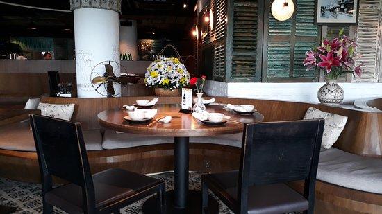 Delicious Vietnamese cuisine, beautiful view