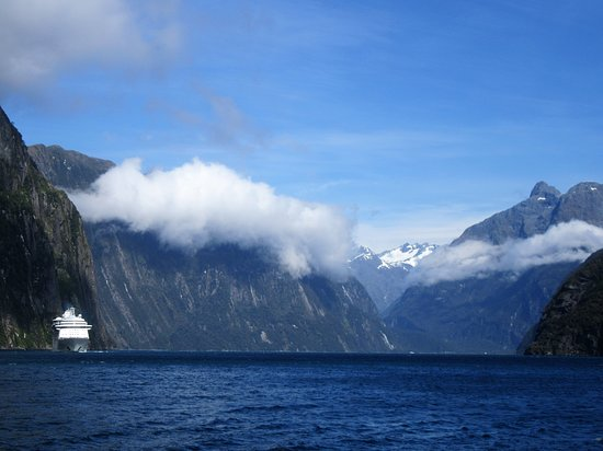 Milford Sound Cruise with Optional Bus Tour: the long white cloud