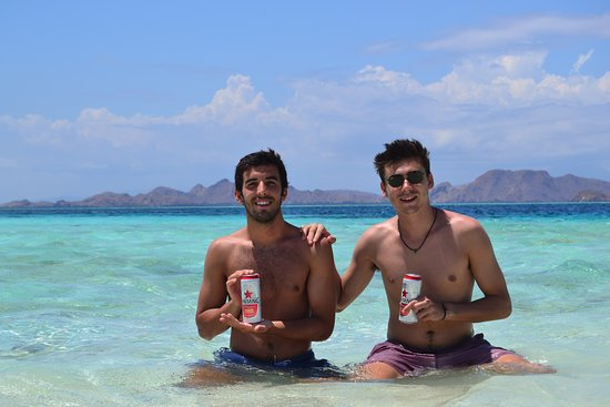 Spend the time on the beach  while drinking a  can of beers, join our komodo trip now .