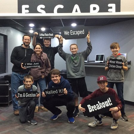 Escape Room BCS Photo