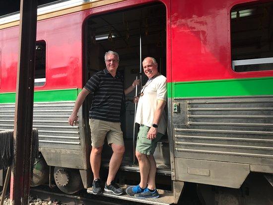 My Tour Guide Bangkok: jump on train see you in Bangkok