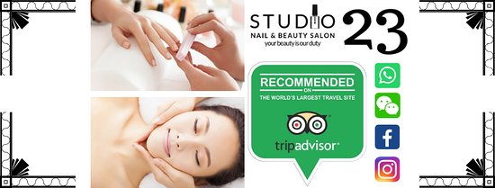 Studio 23 Nail & Beauty Salon: STUDIO 23 offers Nail service💅Facial therapy💆♀️ Waxing and Threading in comforting atmosphere where you feel recharged, renewed and refreshed. 💋❤️