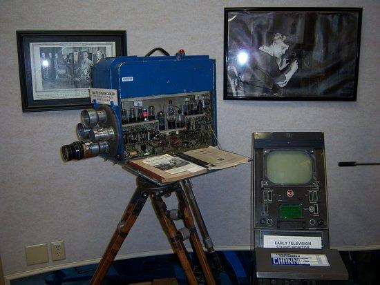 Bloomfield, Nova York: Antique Wireless Museum - 1949 local Rochester TV camera