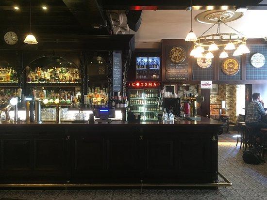 The Scotsman: An excellent bar.