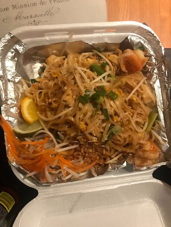 Janya Thai Cusine: Pad-Thai - average at best. Not a whole lot of flavor.