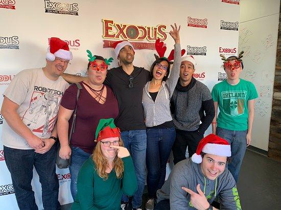 Exodus Escape Adventures: Operation: Save Christmas #HavingABlast #ExodusEscapeAdventures