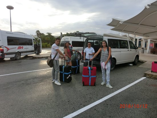 Arraiving to Cancun Airport