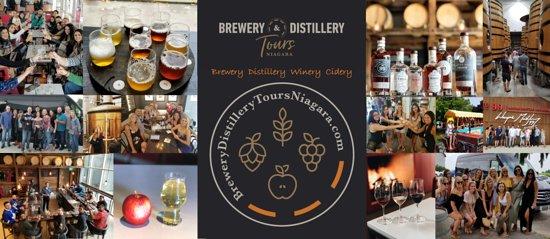 Brewery & Distillery Tours Niagara
