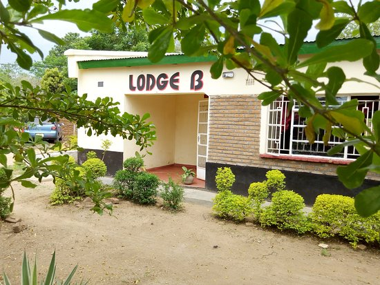 Entrance of Lodge B