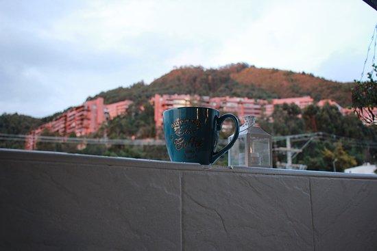 Café en la terraza de Cofibinz