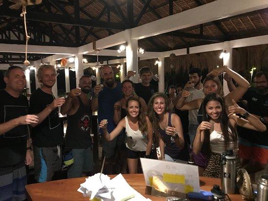 Evolution Diving: Snorkel test festivities