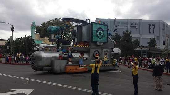 Despicable Me parade