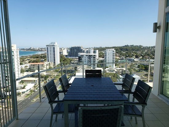 Views from the penthouses.